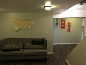 BEST DEAL FOR RENT New Developed Basement suite, walk out .