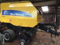 New Holland BR740A Round Baler