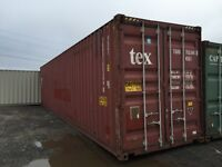 20' and 40' Storage Containers. Best Conditions!