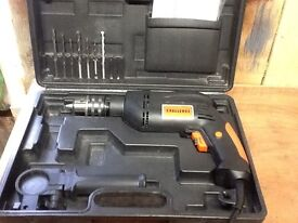 Challenge 600w hammer action drill