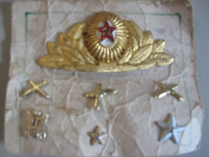 RUSSIAN HAT MILLITARY PIN AND UNIFORM PINS  $10.00