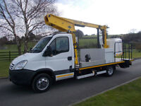 IVECO DAILY 50C 15 CHERRY PICKER 09 REG ONLY 28,000 MILES