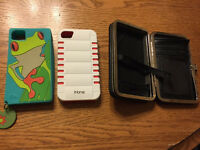 3 assorted iPhone 4s cases