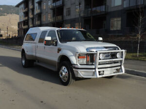 2008 FORD F-450 KING RANCH CREW CAB 4X4 Dually