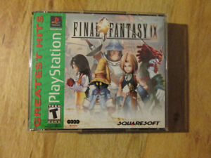 Sony Playstation PSX FINAL FANTASY IX Video Game Square RPG