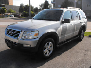 2007 EXPLORER 4X4  LOADED  AUTO  VERY CLEAN  SAFETIED