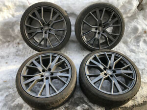 """Audi OEM 19"""" Mags with 255/35/19 All Season Tires"""