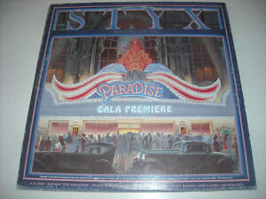 STYX...PARADISE...LASER ETCHED