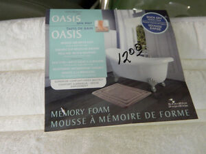 "Memory Foam ""Quick-Dry"" Spa Mat"