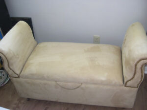 Antique vintage storage settee/bench