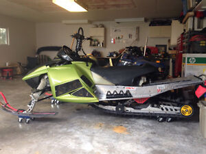 Trade for little tractor?-2004 Skidoo Rev 800 for sale
