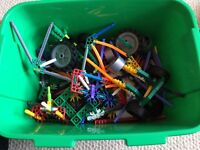 Knex box and instructions