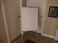 Telecoping Tripod Flip Chart Easel with Paper