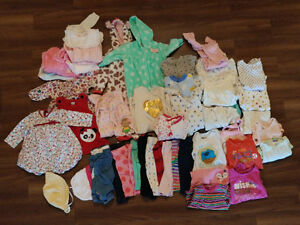 3-6 month girl baby clothes - $20 for entire lot