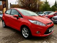 FORD FIESTA ZETEC Red Manual Petrol, 2011