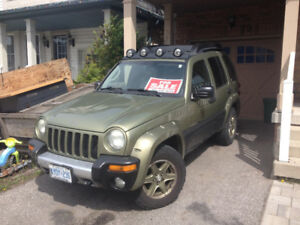 2003 Jeep liberty w/dealer rebuilt engine