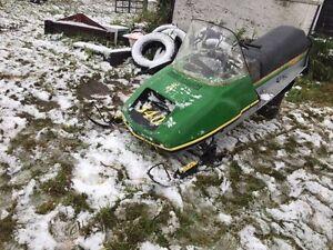 John Deere 340 Snowmobile