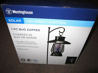 Westinghouse Solar LED Light/Bug Zapper Combo - like NEW, No Box