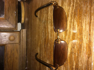 Buffalo horn Cartier sunglasses
