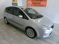 2008 Ford C-MAX 1.6TDCi 110 ( DPF ) Zetec ***BUY FOR ONLY £24 PER WEEK***