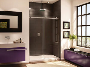 Fleurco sliding shower door 48""