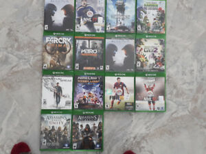 Lot de jeux Xbox one 160
