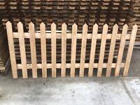 Cheap picket panels