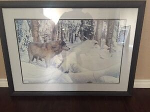 Signed Kenneth Ferris painting 37/65