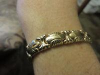 Bracelet or 14k, 7 pouces