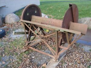 MASSEY HARRIS 30 IN BUZZ SAW ANTIQUE BUT GREAT SHAPE