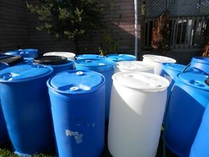 55 Gallon food grade barrels for sale 25 each