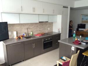 1+DEN condo, High floor, Down town Toronto, 8 Mercer