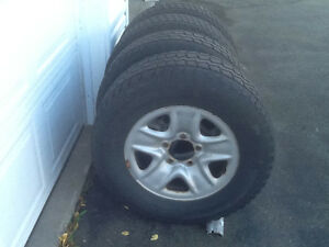 wheels/tires for 2008 Tundra