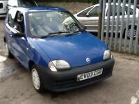 Fiat Seicento 1.1 Mia FOR SPARES OR REPAIR