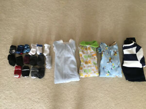 3-6 month sleepers/clothes