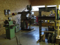 Custom machining/welding/fabrication