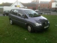 Vauxhall/Opel Zafira 1.6i 16v 2004MY Life 7 seats