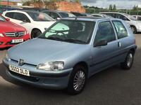PEUGEOT 106 1.1 LIMITED EDITION INDEPENDENCE 2002 **LOW 35,574 MILES **FULL MOT