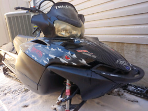 07 Polaris Dragon 700 with ramps and dolly
