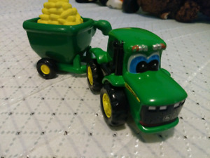 John Deere tractor collectible