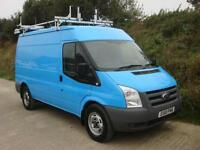 2010 10 Ford Transit 2.2TDCi Duratorq 115PS 330M Med Roof 330 MWB Van AIRCON