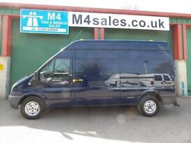 Ford Transit 115ps,350 lwb hitop van.No Vat