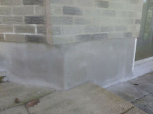 Concrete sealing,Concrete repairs,Foundation Parging Cambridge Kitchener Area image 5