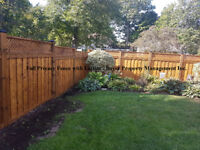 Wood Fence Installation, 2 Year Warranty - FREE ESTIMATES