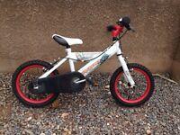 """Boys bike 14"""" age 3-6 years"""