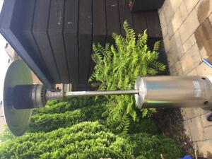 Outdoor heater propane
