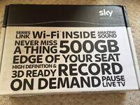 500GB Sky+HD Box