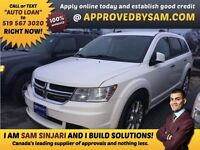 """JOURNEY - TEXT """"AUTO LOAN"""" TO 519 567 3020 GUARANTEED CREDIT"""