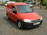 VAUXHALL COMBO 1.3CDTI 52K 2007 ONE OWNER FSH *10 STAMPS* £1595 NO VAT