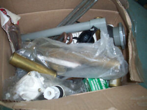 Divers matériaux de plomberie à vendre     fait une  offre